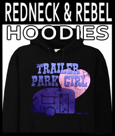 Redneck Rebel & Dixie Hoodies