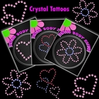 Rhinestone Crystal Tattoos (3 Pack)
