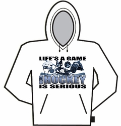 Roller Hockey Is Serious Hoodie