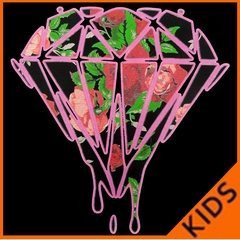 Roses Dripping Diamond Kids T-shirt