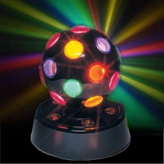 Rotating Multicolor Disco Light