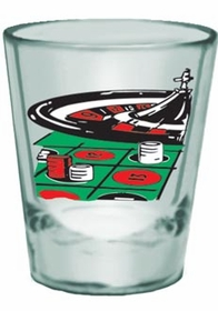 Roulette Shot Glass