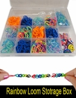 Rubberband Looms Rubber band and Accessory Storage Box