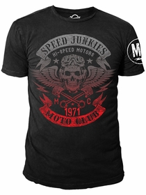 Ryder Supply Clothing - Speed Mens T-shirt (Black)
