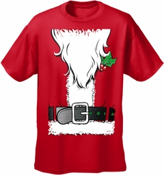 Santa's Beard Tux Men's T-Shirt