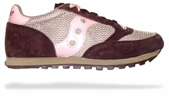 "Saucony ""Jazz"" Sneakers (Brown/Pink)"