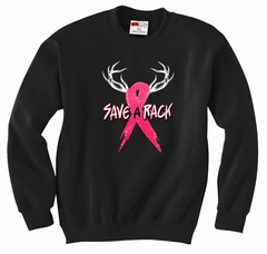 Save A Rack Adult Crewneck