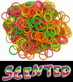 Scented Rubberband Looms Refill Kit (100 Pieces) - Rainbow