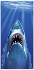 Shark Bite Beach and Bath Towel (30 x 60 Inches)