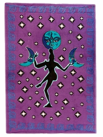 Shiva Moon Dancer Tapestry