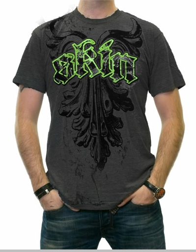 """Skin Industries """"Prophecy"""" T-Shirt (Charcoal)"""