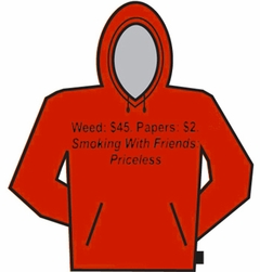 Smoking Weed With Friends Priceless Hoodie