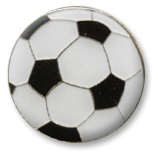 Soccer Ball Lapel Pin
