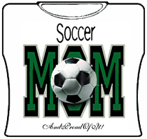 Soccer Mom And Proud Of It Girls T-Shirt