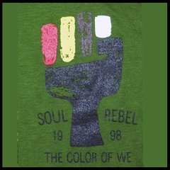 Soul Rebel Color Fist (Olive Green)