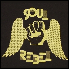 Soul Rebel Fist Wings T-Shirt (Black)