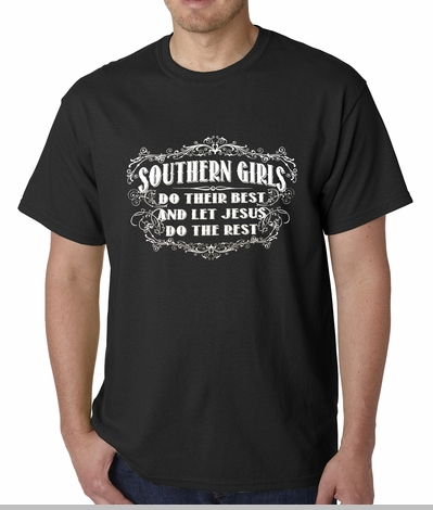 Southern Girls Do Their Best Mens T-shirt<!-- Click to Enlarge-->