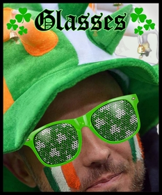 St. Patrick's Day Glasses & Eyewear