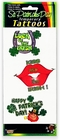 St. Patrick's Day Large Temporary Tattoos