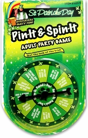 St. Patrick's Day Pin & Spin Drinking Game