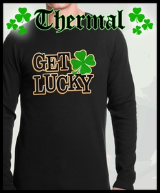 St. Patrick's Day Thermal Shirts