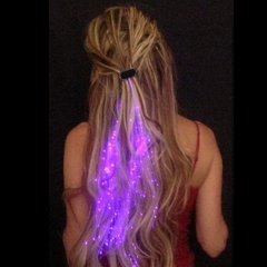 Glowbys Starlight Strands Illuminating Fiber Optic Hair Extensions & Rave Toy