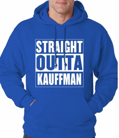 Straight Outta Kauffman Field Kansas City Adult Hoodie