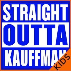 Straight Outta Kauffman Field Kansas City Kids T-shirt