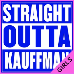 Straight Outta Kauffman Field Kansas City Ladies T-shirt