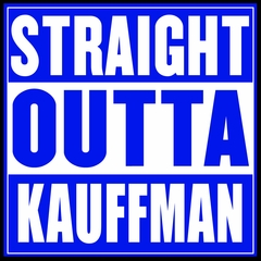 Straight Outta Kauffman Field Kansas City Mens T-shirt