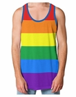 Striped Rainbow Tank Top
