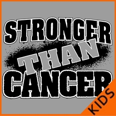 Stronger Than Cancer Kids T-shirt
