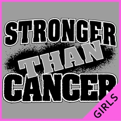 Stronger Than Cancer Ladies T-shirt