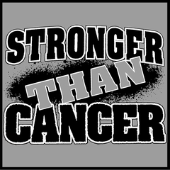 Stronger Than Cancer Mens T-shirt