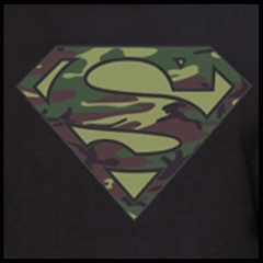 Superman Camo Logo T-Shirt