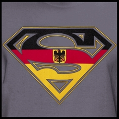 Superman German Shield T-Shirt
