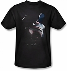 "Superman Man of Steel ""Movie Poster"" Men's T-shirt on Black"
