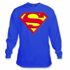 "Superman ""S Logo"" Long Sleeve T-Shirt"