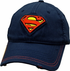 Superman Vintage S-Shield Hat