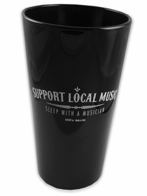 Support Local Music Pint Glass