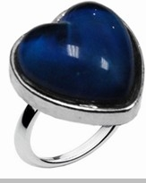 Sweet Heart Shaped Mood Ring<!-- Click to Enlarge-->
