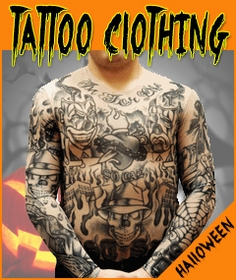 Tattoo Clothing for Halloween Costumes