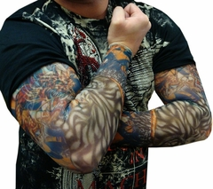 Tattoo Sleeves - White Tiger Tattoo Sleeves (Pair)