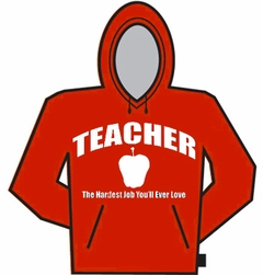 Teacher The Hardest Job Hoodie