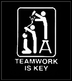 Teamwork Is Key T-Shirt