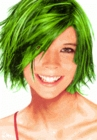 Temporary Spray In Hair Color (Green)