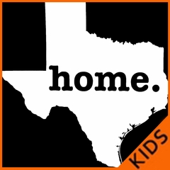 Texas is Home Kids T-shirt