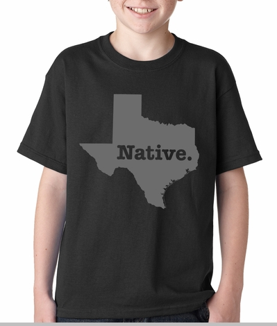 Texas Native Kids T-shirt<!-- Click to Enlarge-->