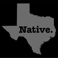 Texas Native Mens T-shirt