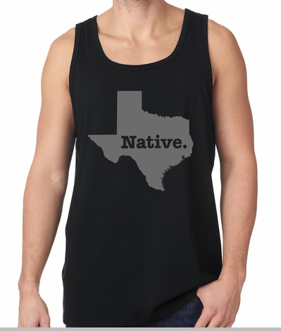 Texas Native Tank Top<!-- Click to Enlarge-->
